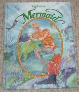 Vintage 1991 The Little Mermaid Over Sized Hard Cover Book in Oswego, Illinois