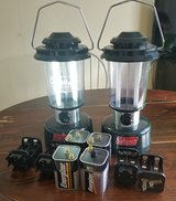 2 Colman Battery Operated Lanterns w/ xtra in Chicago, Illinois
