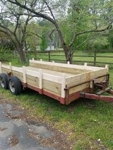 6ft x 15 ft. Double Axle Trailer in Camp Lejeune, North Carolina