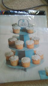 """It's A Boy"" Cupcake Holder for Baby Shower in bookoo, US"