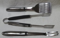 Grill tool set in Plainfield, Illinois