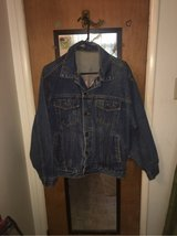 men's / ladies jean jacket Vintage( over 25 yrs) large in Yucca Valley, California