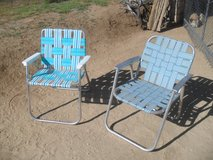 **  2 x Folding Aluminum Chairs  ** in Yucca Valley, California