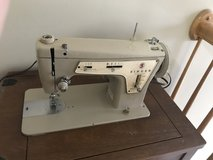 Vintage singer sewing machine table in Morris, Illinois