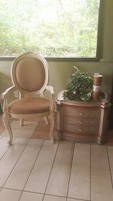 Entry  chair and night stand in Cleveland, Texas