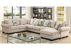 NEW! SKYLAR COLLECTION COMFY USA MADE SOFA CHAISE FAMILY SECTIONAL! in Camp Pendleton, California