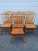 7 Solid Wood Chairs in Aurora, Illinois