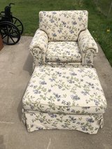 Chair and Ottoman American Signature & 4 Pillows OBO in Fort Knox, Kentucky