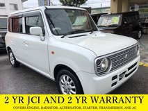 2 YR JCI AND 2 YR WARRANTY!! 2006 SUZUKI LAPIN!! FREE LOANER CARS AVAILABLE NOW!! in Okinawa, Japan