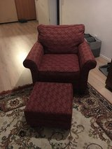 Chair with ottoman in Ramstein, Germany