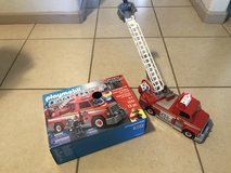 PlayMobil City Action Fire Truck w/Lights and Sounds EUC w/Box in Travis AFB, California