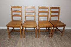 4 light golden brown chair for sale in Spring, Texas