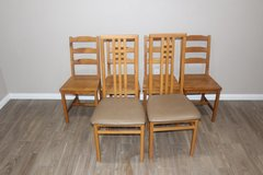 6 chairs - Light brown in Spring, Texas