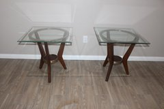 Glass top Side tables set (2) in Spring, Texas