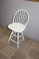 White bar height chair in Spring, Texas