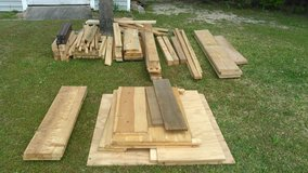 Wood for projects in Cherry Point, North Carolina
