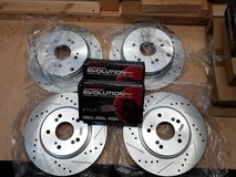 CRV Rotors and Pads in Ramstein, Germany