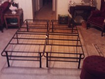 Queen or two twin size bed frames like new in Camp Lejeune, North Carolina
