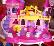 """Large """"Little People"""" Doll House / Castle in Alamogordo, New Mexico"""