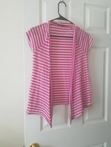 xs express pink and white stripe cardigan in Quantico, Virginia