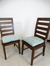 World Market-Wood Garner Dining Chairs (2) in Pearland, Texas