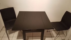 Small Ikea Table and 2 Chairs in Stuttgart, GE