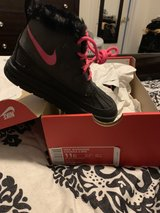 kids Nike boots Size 11C in Fort Campbell, Kentucky