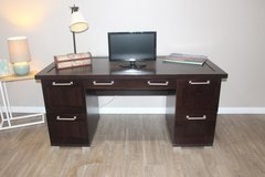 Executive Desk (brown) in Tomball, Texas