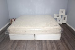 King Stearns and Foster Pillowtop mattress in Tomball, Texas