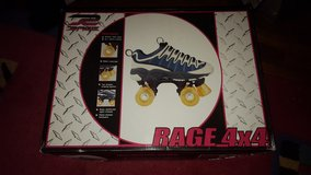 rage 4x4 rollerskates new in Naperville, Illinois