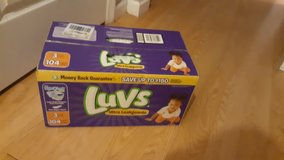 Luvs Diapers in Warner Robins, Georgia