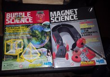 kidz labs science kits bubbles and magnet new in Yorkville, Illinois
