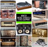 WANTED old speakers and stereo equipment (working or not) in Camp Pendleton, California