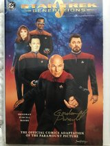 Comic/Signed: Star Trek Next Generation #1 in Warner Robins, Georgia