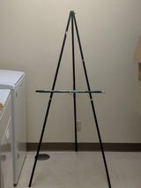 Wooden Easel Art Stand in Okinawa, Japan