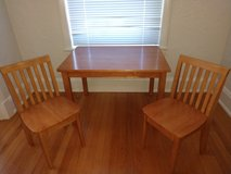 Kids Table and set of two chairs in Lackland AFB, Texas
