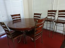 Kitchen Table, Chairs, and Bar stools in Lackland AFB, Texas