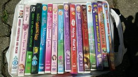 16 Kids Animated DVDs in Ramstein, Germany