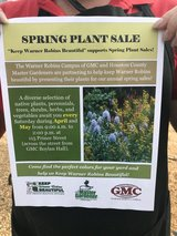 Spring Plant Sale in Warner Robins, Georgia
