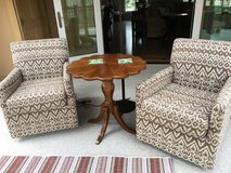 2 Swivel Chairs (price is for both) in Bolingbrook, Illinois