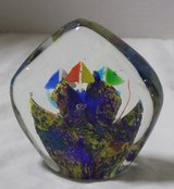 Glass Fish and Sailboat Paperweight Decor in Kingwood, Texas