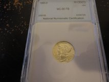 1943 d ms 66 fb mercury dime in Fort Campbell, Kentucky