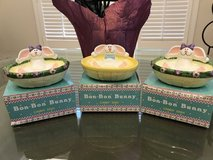 3 Easter Candy/Nut Dishes in Bolingbrook, Illinois