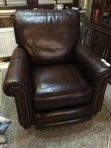 Recliner, Hamilton Hand Rubbed Leather w/Push-Back Saddle in Ramstein, Germany