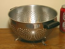 Vintage Farberware Stainless Colander in Bolingbrook, Illinois