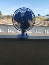 "Lasko 12"" 3 Speed Portable Oscillating Small Table or Floor Fan, Black in Camp Pendleton, California"