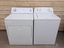 Roper washer and Whirlpool electric dryer set in Alamogordo, New Mexico