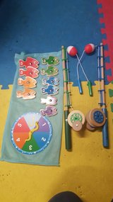 Melissa & Doug catch count fishing game in Aurora, Illinois