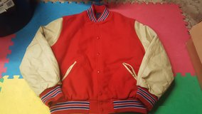 mens varsity highschool letterman jacket xl? in Chicago, Illinois