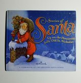 Hallmark Stories of Santa Up On The Housetop Jolly Old St. Nicholas Hard Cover Book w Dust Jacket in Joliet, Illinois